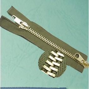 Dây khóa kéo kim loại